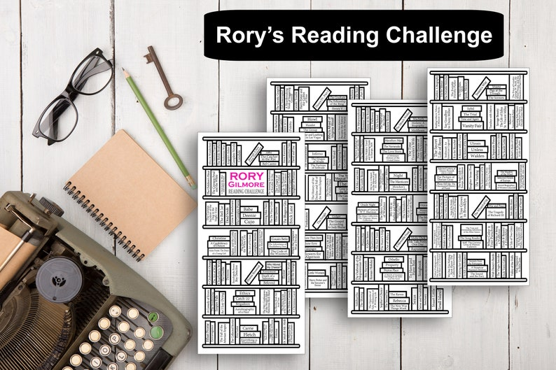 Rory's Reading Challenge  Hobonichi/PP Weeks digital image 0