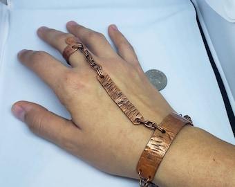 Copper slave bracelet