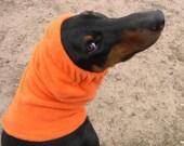 Hunter Orange Polarfleece Snood