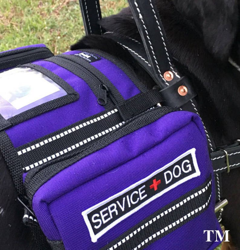 Service Dog Vest that attaches to Harness Backpack style vest image 0