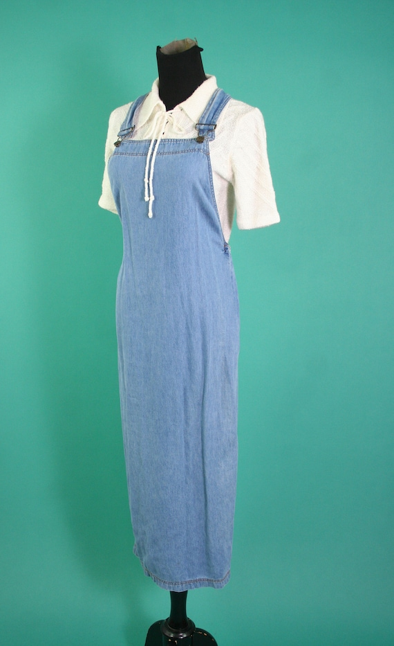 Vintage 1990s Rampage Light Denim Long Overall Sus