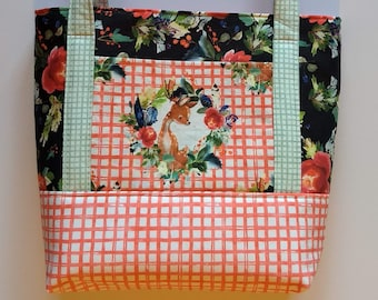 Basic Tote Bag Sewing Pattern PDF by Aivilo Charlotte Designs