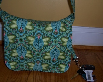 Messenger Bag pdf Sewing Pattern - 3 Sizes to sew Small Medium Large - Instant Download