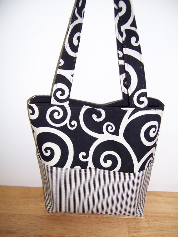 Purse PDF Sewing Pattern Aivilo Pocket Tote Bag 4 Sizes | Etsy