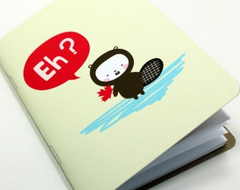 Canadian Beaver Pocket Notebook