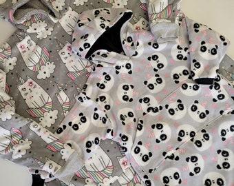 Kids' Blanket Hoodie - PDF Sewing Pattern