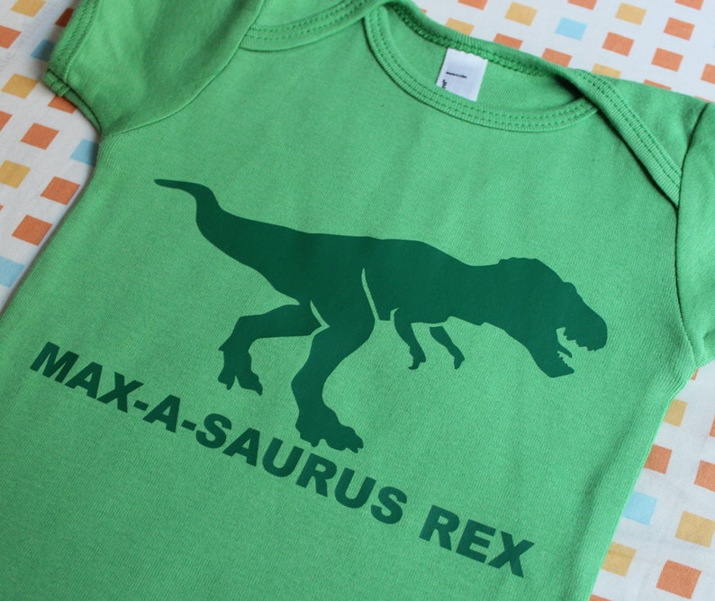 Baby S One Birthday Dinosaur Onepiece Saurus A Size Fabric for Babies Clothes