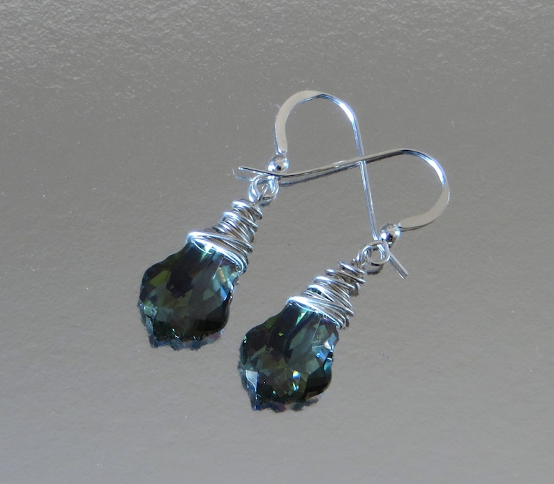 As Seen On Law And Order SVU. Sterling Silver Wire Wrapped image 0