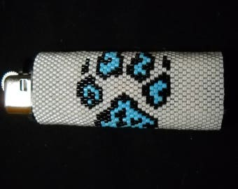 Wolf Paw Big Lighter Cover