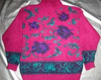 Mohair Sweater Vintage 80 s - Pink 9ab0d7881