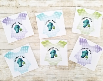 Monsters Inc Thank You Stickers