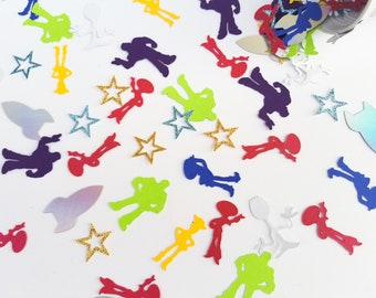 Toy Story Party Decoration - Character Cut Out Confetti