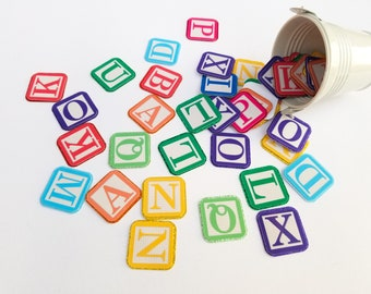 Toy Story Party Decoration - Toy Blocks Table Confetti