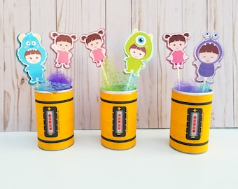 Baby Boo Monsters Inc Large Picks - Ideal for Centerpieces or decoration - (PICKS ONLY)