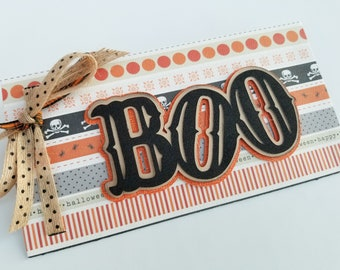 Halloween Gift Envelope - Ideal for Color Street Nail Sets or Cash - Boo Gift Design