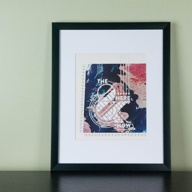 The Here & Now  Art Print image 0