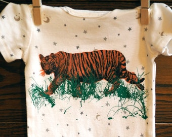 Tiger onesie or toddler shirt