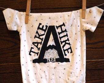 Take a Hike onesie or toddler shirt