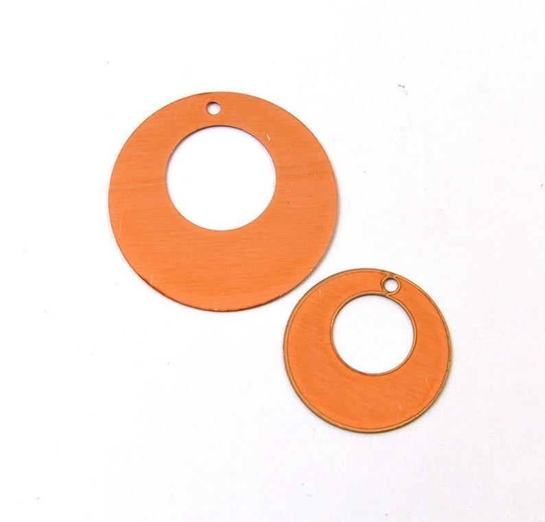24 Gauge Round copper blank Solid