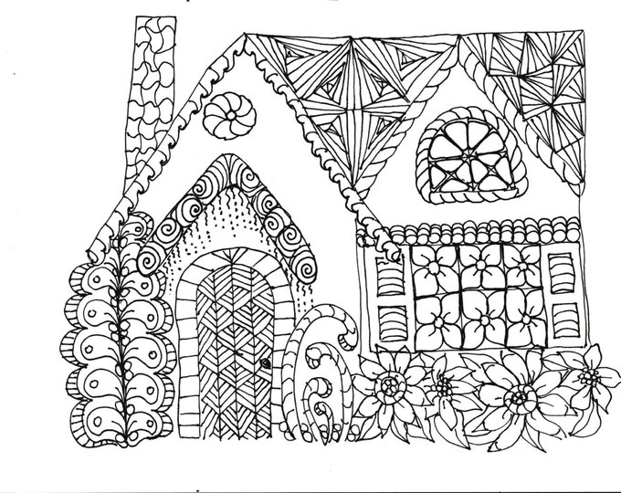 Coloring Pages, Printable Coloring Pages, Adult Coloring Pages, Coloring Pages for Kids, Simple Designs to Color 11 pages to print & color