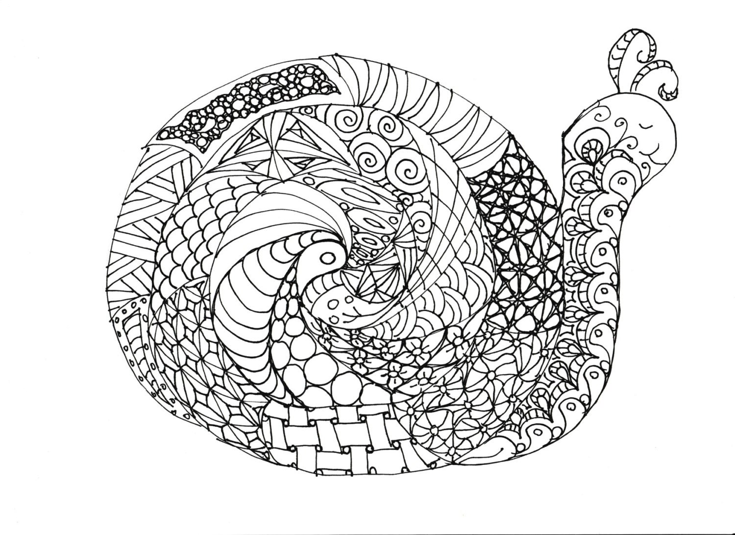 Coloring Pages Printable Adult For Kids Simple Designs To Color 11 Print