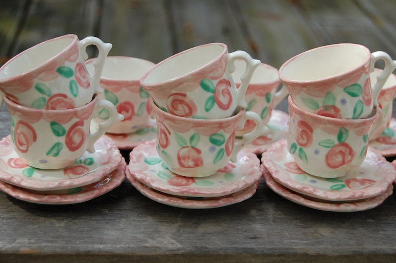 Personalized Tea party favors // Shabby Chic Tea Party  // image 0