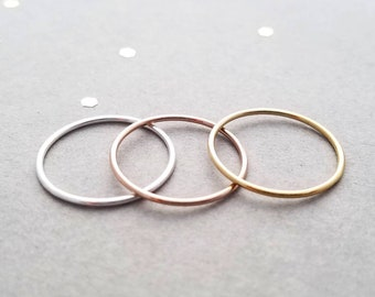 Rose Gold Filled Ring