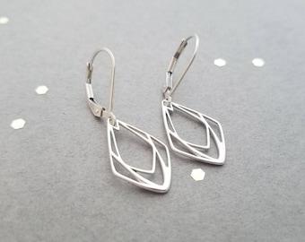 Art Deco Teardrop Earrings