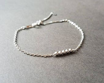 Simple Sterling Bracelet