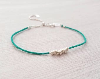 Stacking String Bracelet