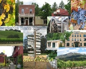 Glen Ellen Post Card 12 P...