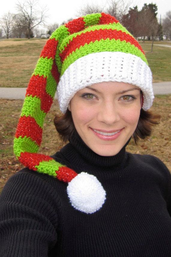 Crochet Pattern Adult Elf Hat Etsy
