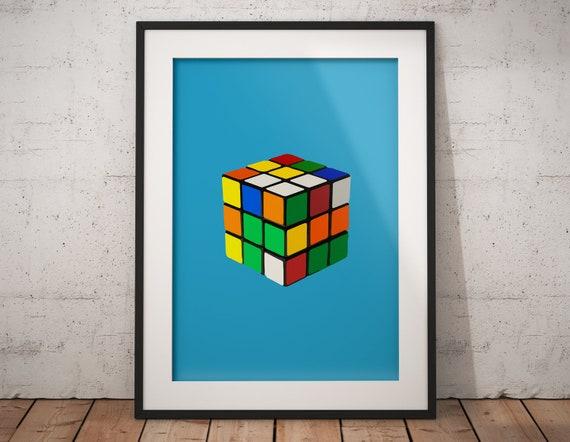 Best selling prints Children/'s Room Art Rubic/'s Cube Print Rubik/'s Cube Wall Art Poster Digital Download Printable Art Printable Art