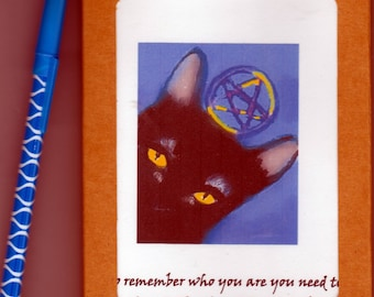 Witches, magic, Wicca greeting card set