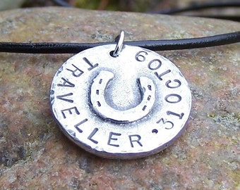 Personalized Horse Lovers Pendant or Necklace, Horse Jewelry, Horse Memorial Necklace