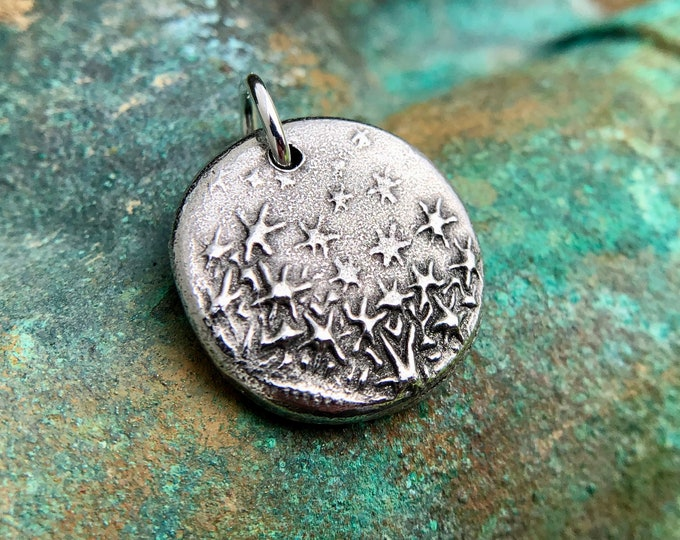 Dancing Stars Pendant, Little Star Charm