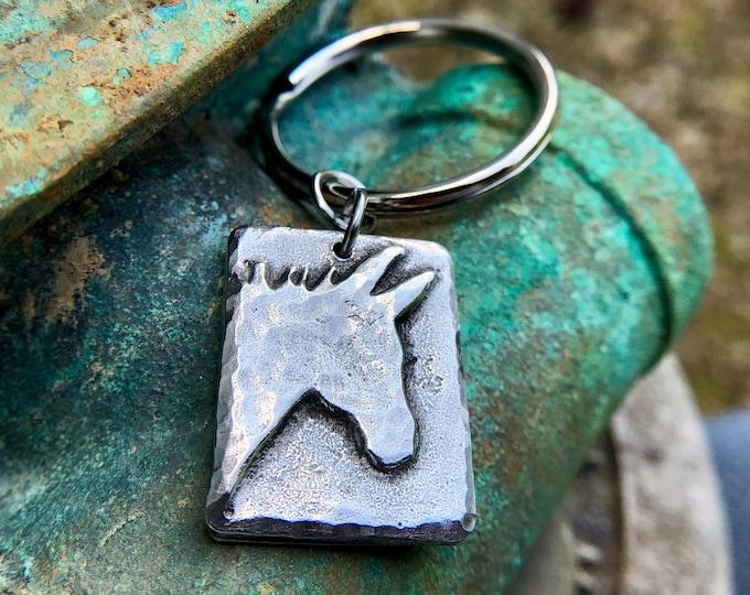 Donkey Keychain, Mini Donkey Key Ring