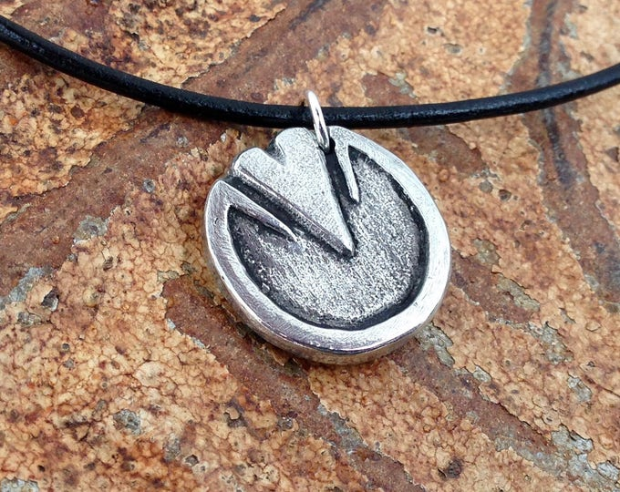 Barefoot Horse Hoof Necklace, Rustic Horse Jewelry, Horse Lover Gift