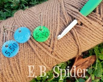 Size Matters Tags - Crochet Hook Size Marker Tags