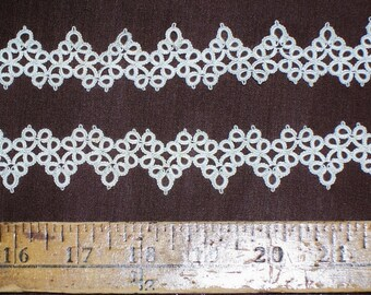 Vintage Antique Tatting Lace 44 Inches  Long
