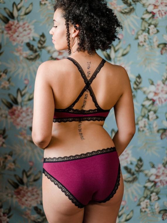 5750e9279bc4 Bamboo/Cotton/Lycra Blend Panties Custom Fit Womens Lingerie | Etsy