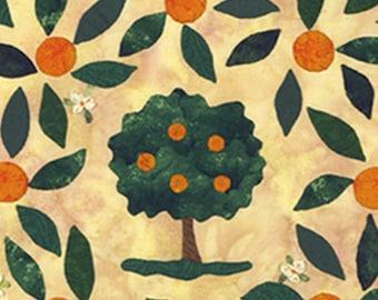 Orange Grove Applique quilt pattern