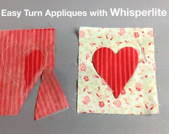 Whisperlite quilt foundation/tracer material for quilting