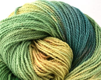 Mohonk Hand Dyed sport weight NYS Wool 370yds/ 338m ~4oz/113g Tortuga
