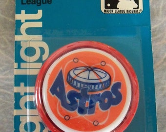 Vintage / GE / National League Night Light / Astros / Old Stock / (C) GE 1979