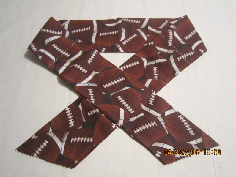 Sports Football Kids Prints Extra Wide 3 Reusable Non-Toxic Cool Wrap  Neck Cooler