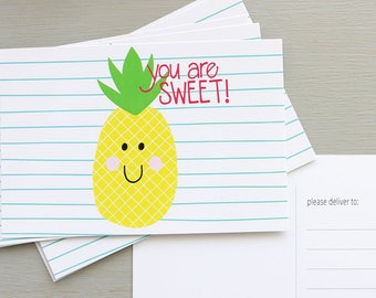 You are Sweet - Postcards