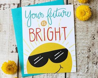 Bright Future - Congratulations Card
