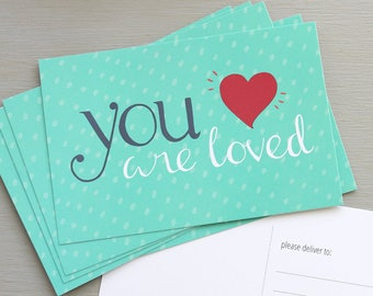 You are Loved Postcards