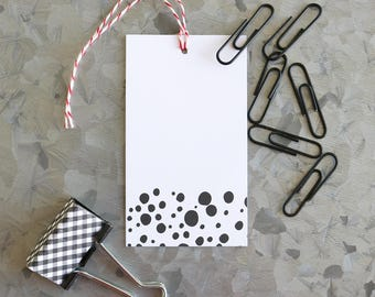 Black Spot Gift Tags